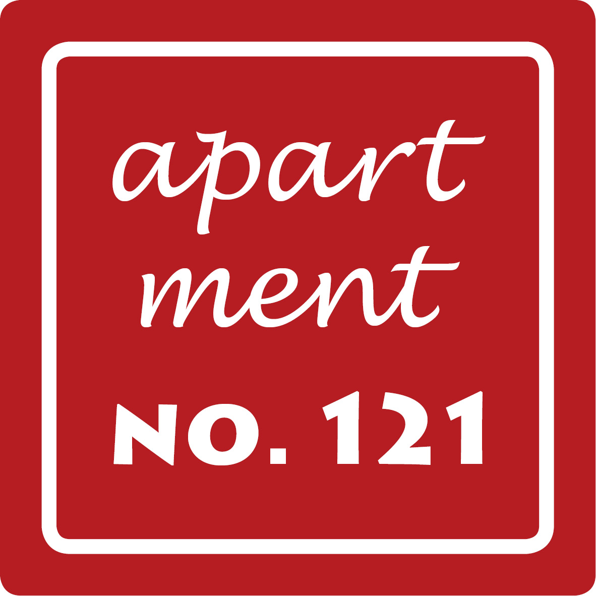 Apartment No. 121